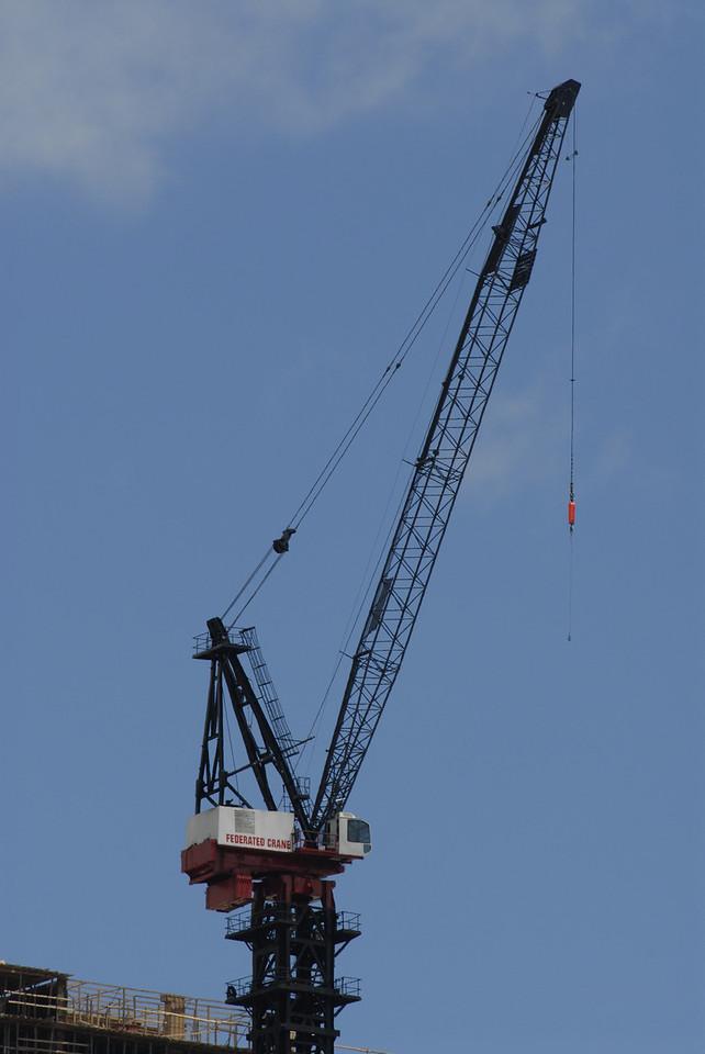 Construction Crane 1/2 mile away