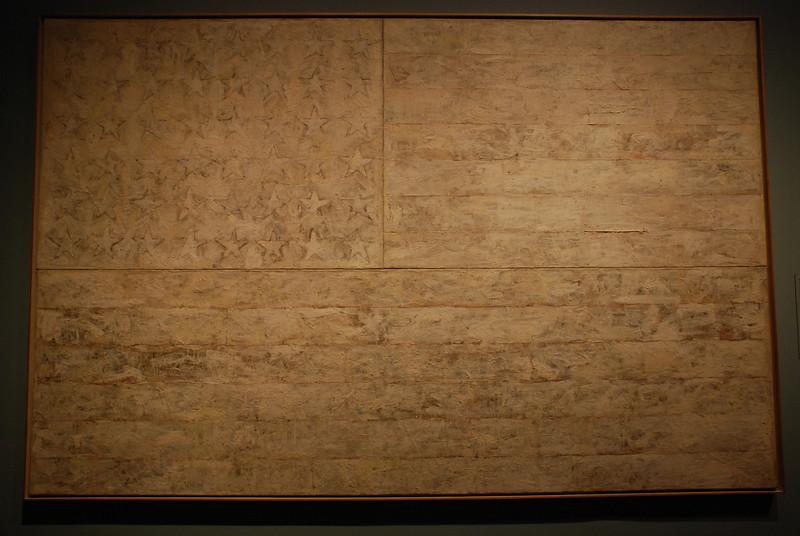 Jasper Johns - White Flag