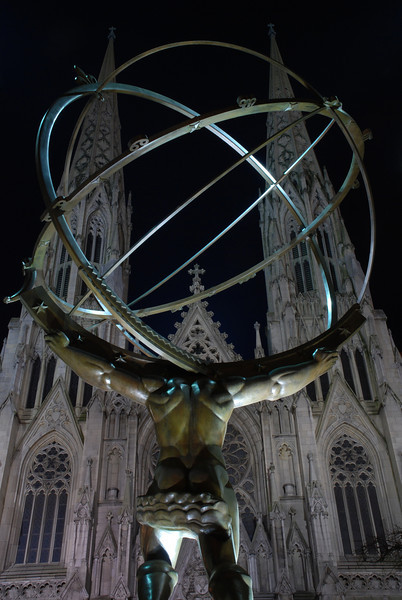 Atlas and St Patrick's