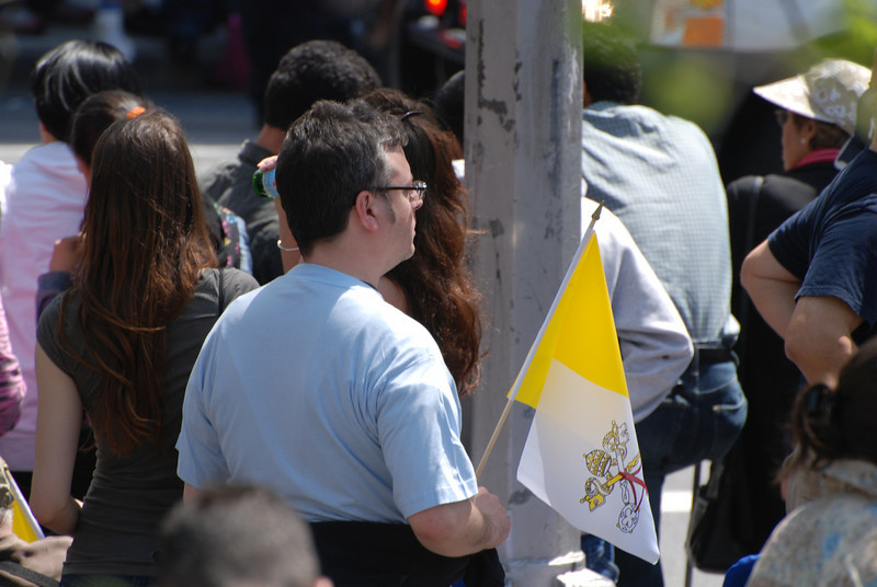 Pope Benedict vist NYC April 2008