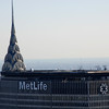 Chrysler building blocked by the Metlife building