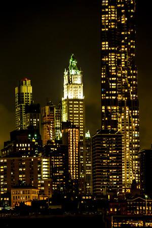 NYC 9/11/2014 Night Shots