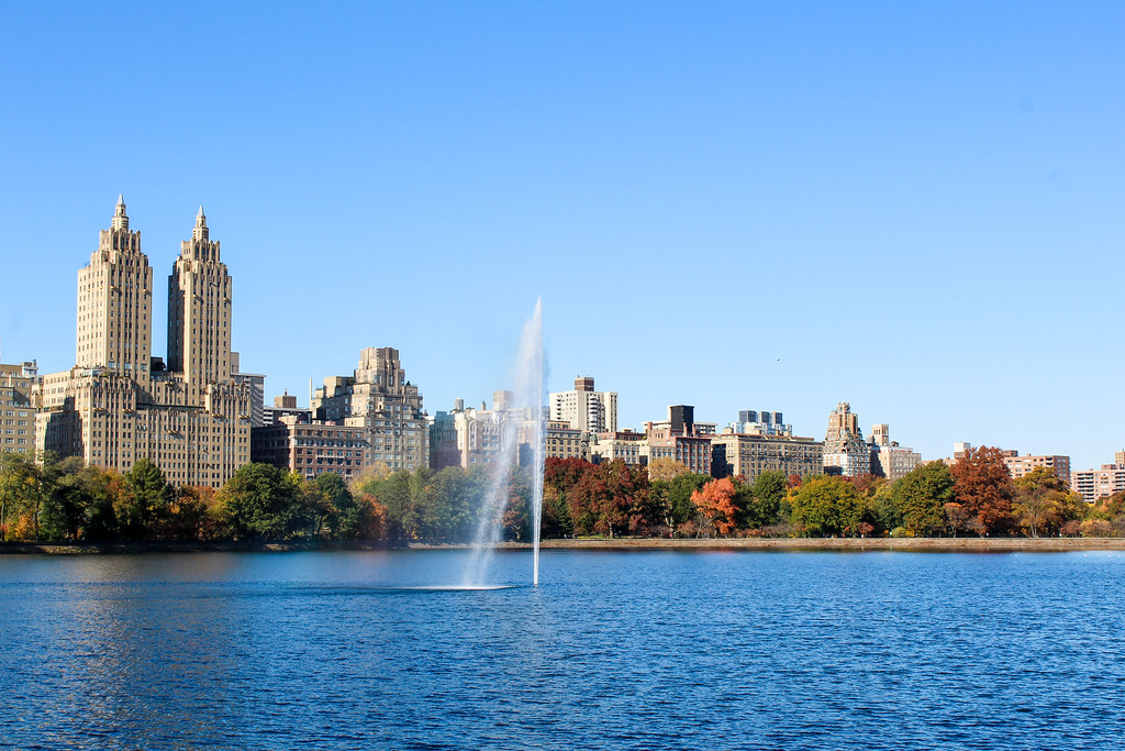 Don't skip the reservoir on your central park sightseeing walking tour