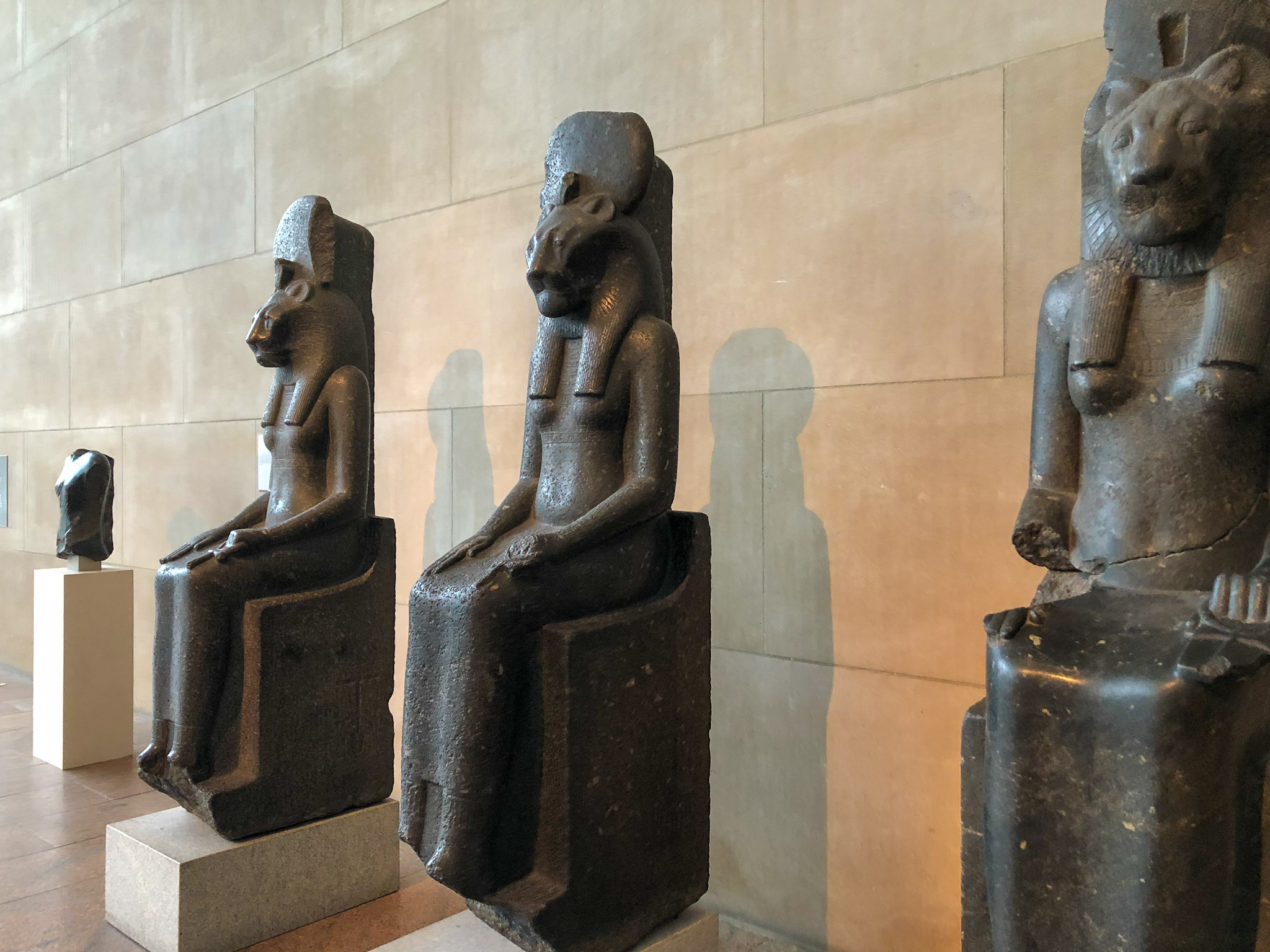 visiting the met and seeing Egyptian art