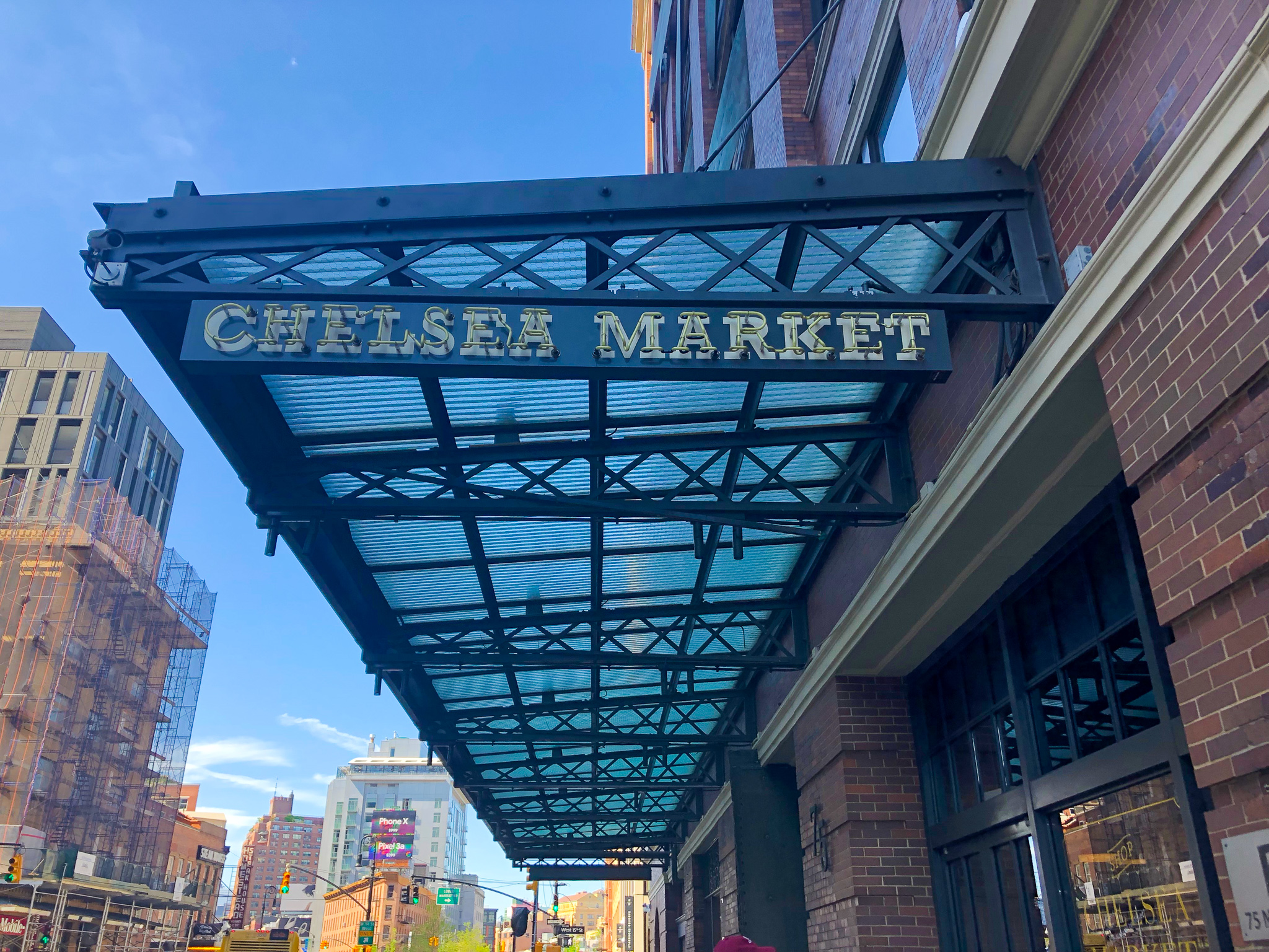 2 days in new york itinerary: eat in chelsea market