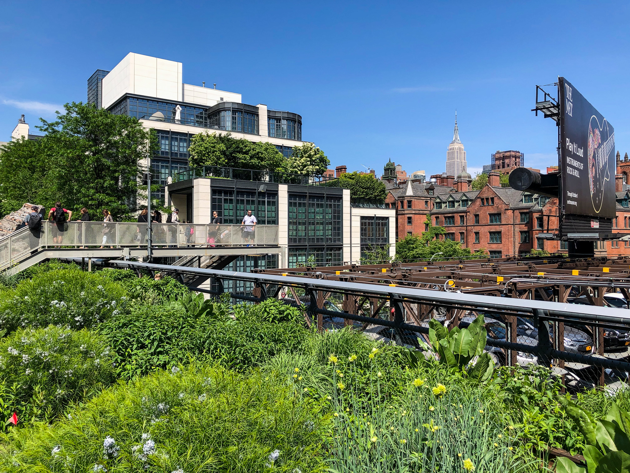 need what to do in chelsea new york? the high line!