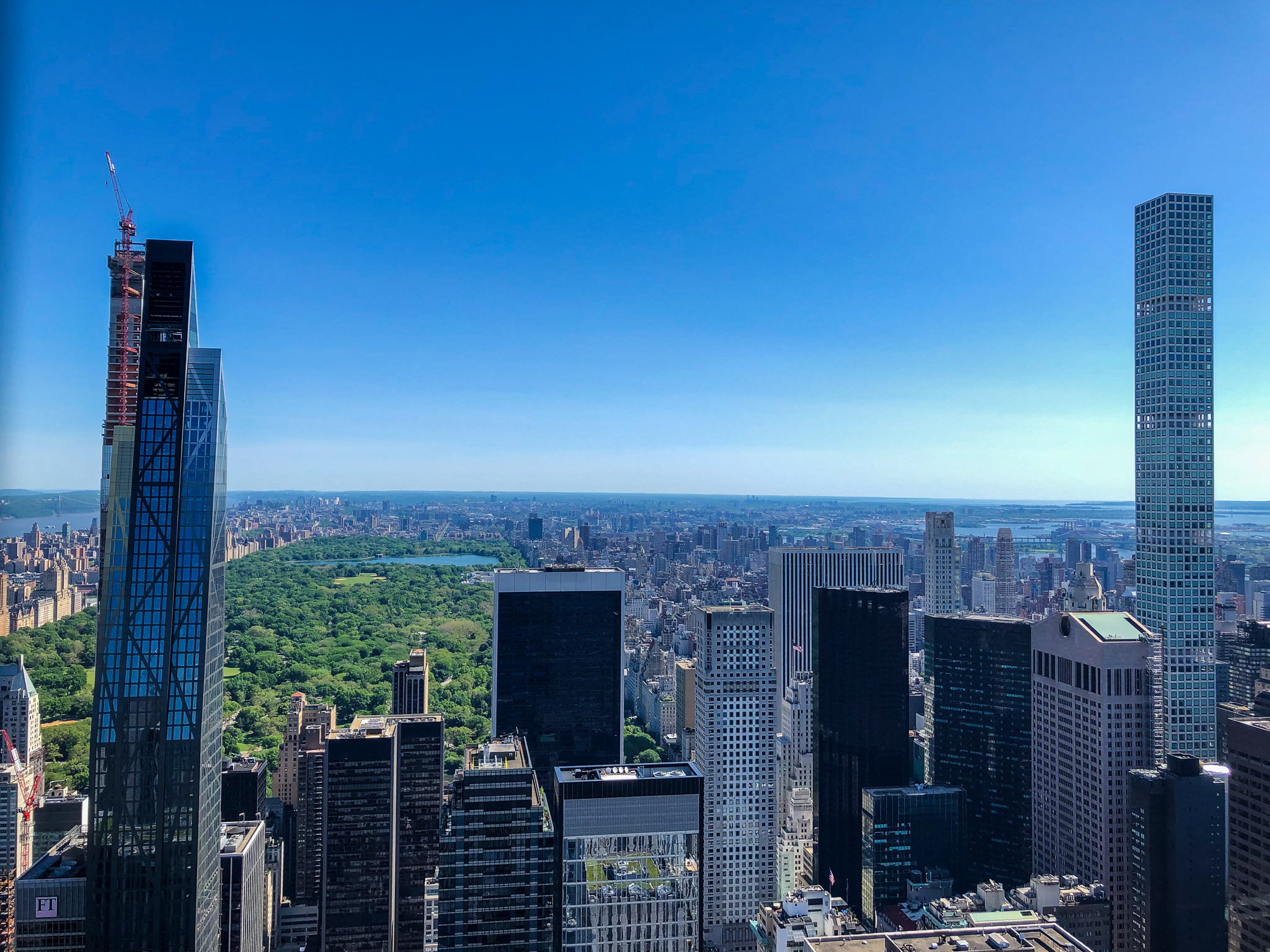 buy a citypass and go to the top of the rock after visiting the met