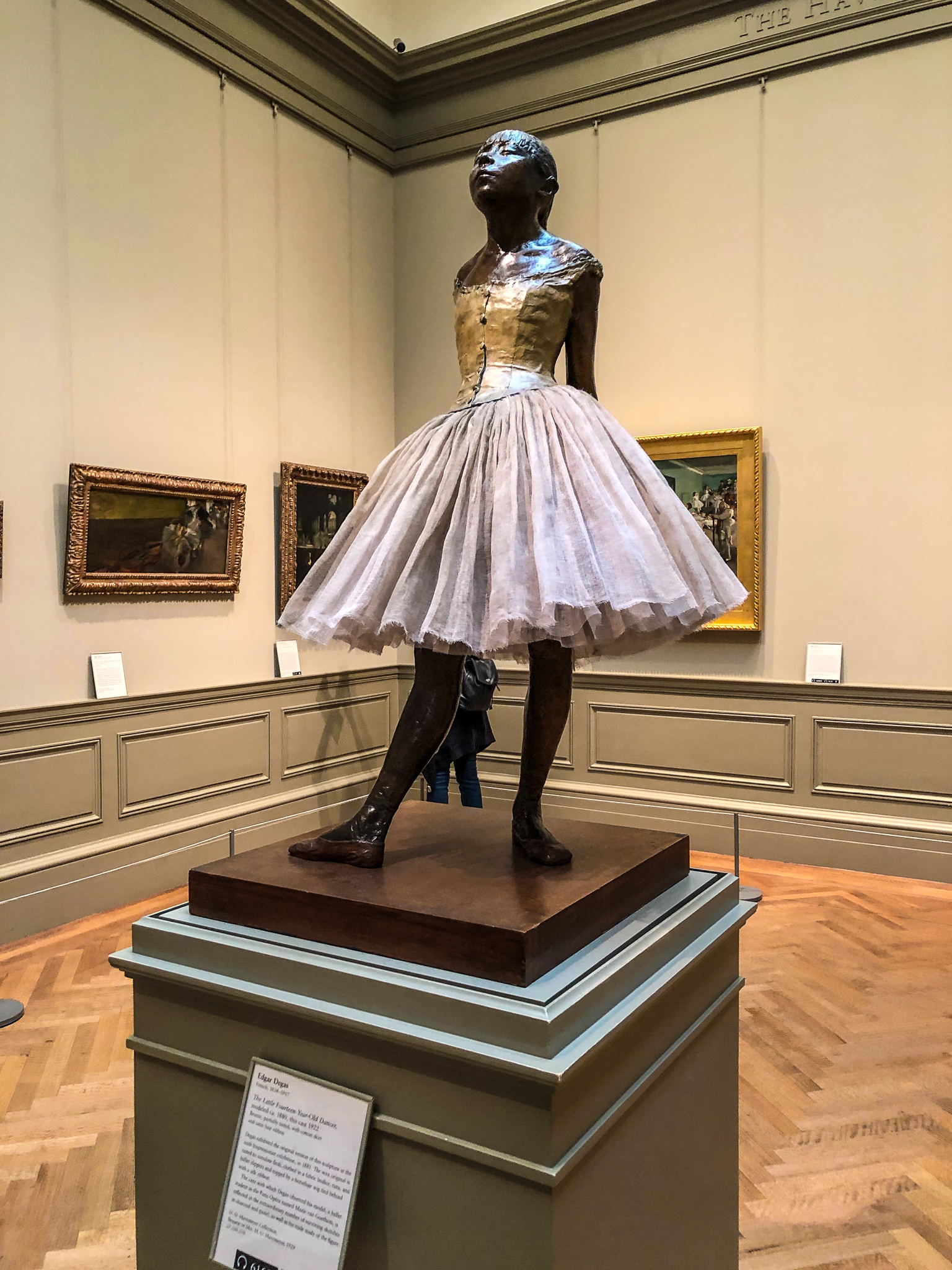 visiting the met you will see degas