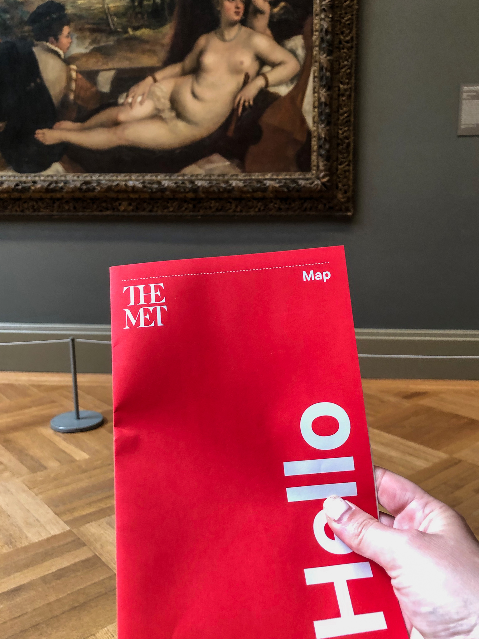 Tips for visiting the metropolitan museum of art: keep your map