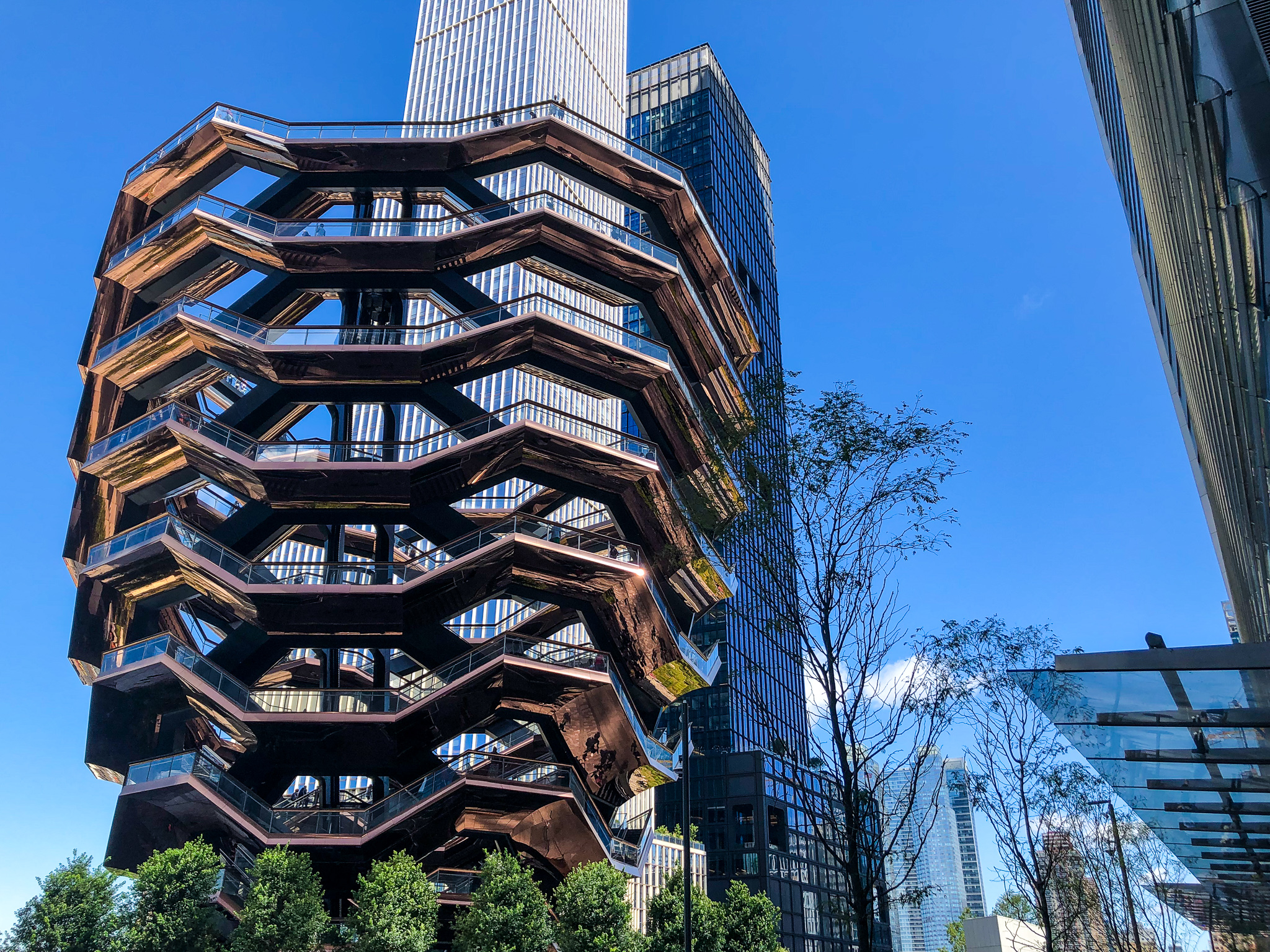 need the best things to do in chelsea nyc? head to nearby hudson yards and see the vessel
