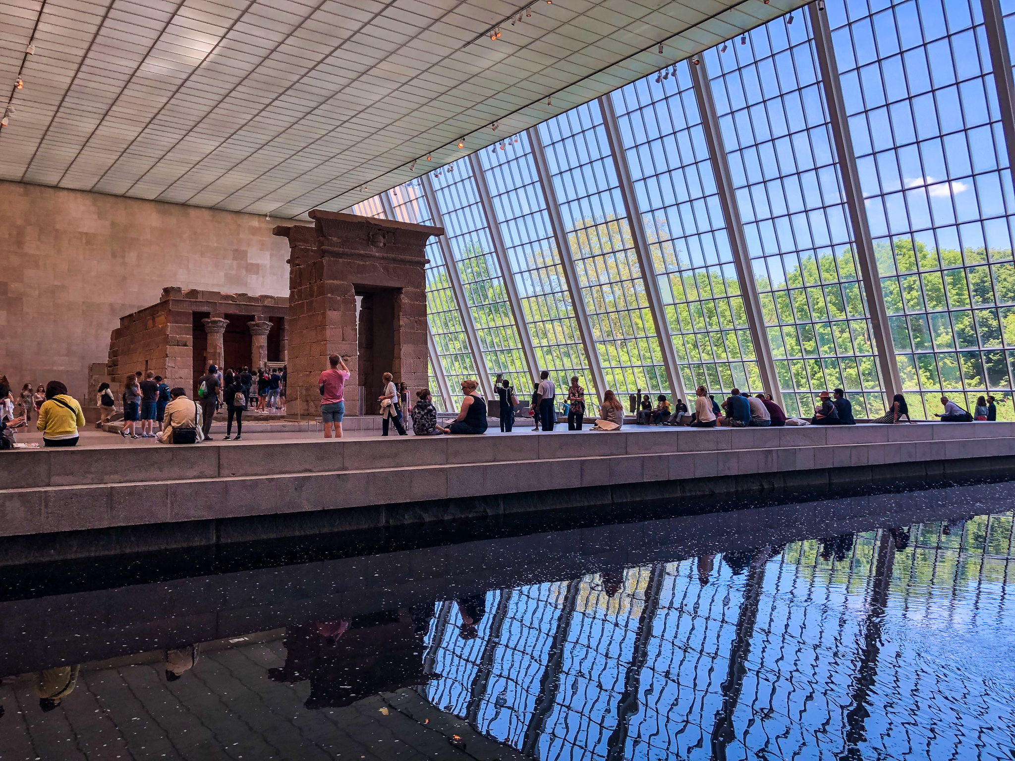 how to visit the metropolitan museum of art: don't skip the pyramids