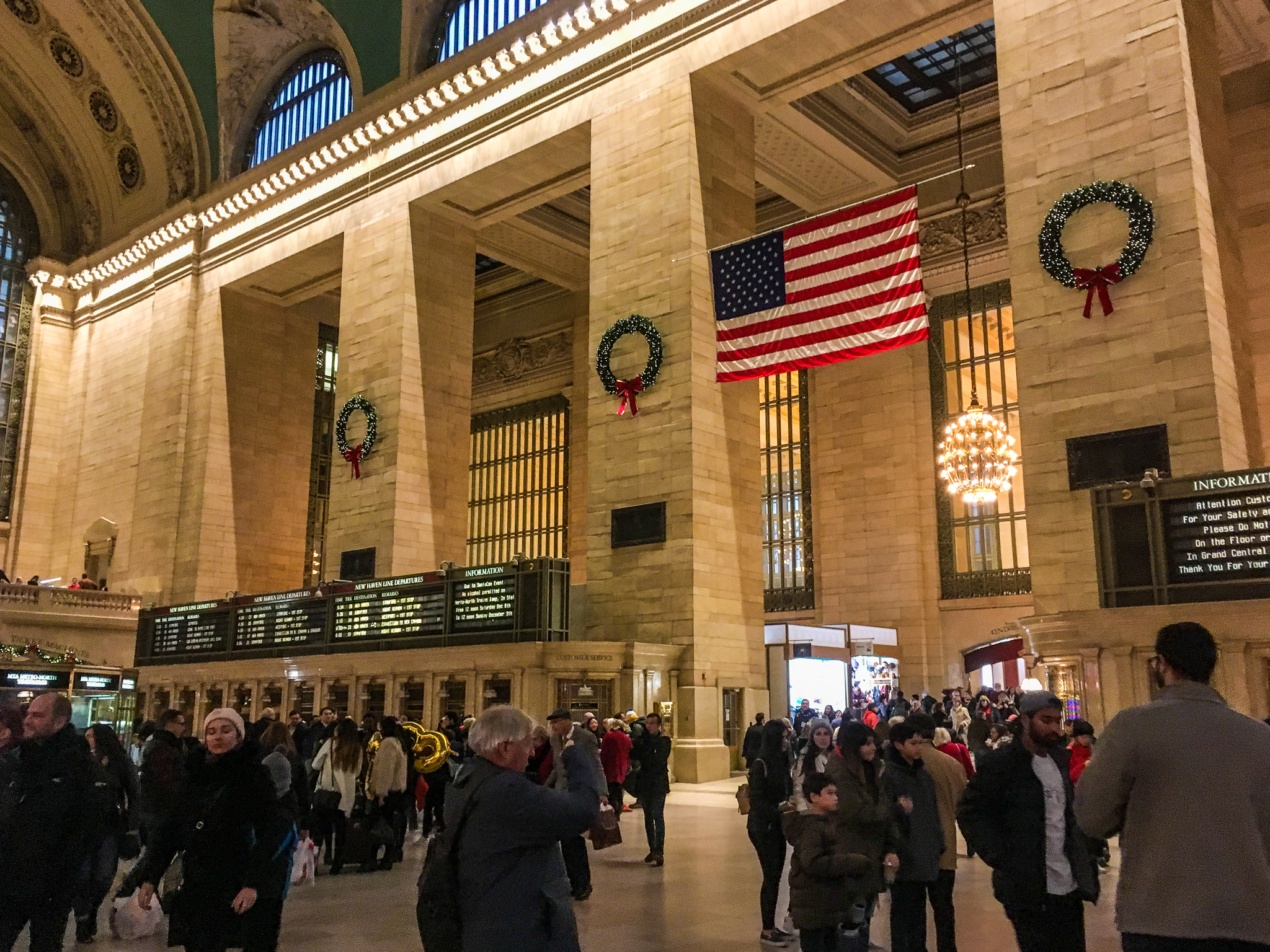 go to grand central with 2 days in new york city
