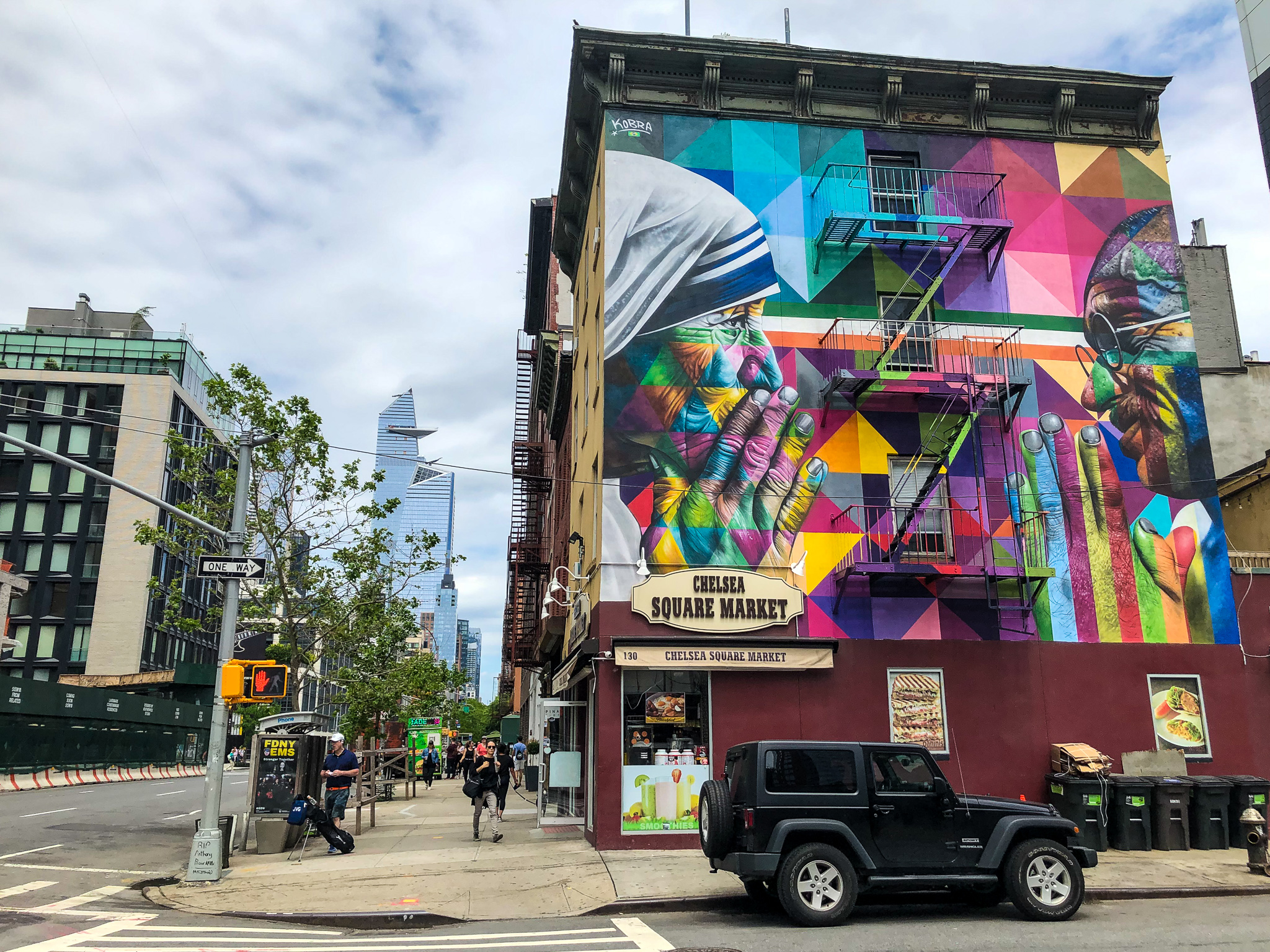 street art is among the things to do in chelsea