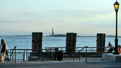 Photos from Battery Park and the Staten Island Ferry including the Statue of Liberty