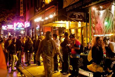 MacDougal Street Halloween 2009