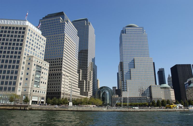 Battery Park City from Water