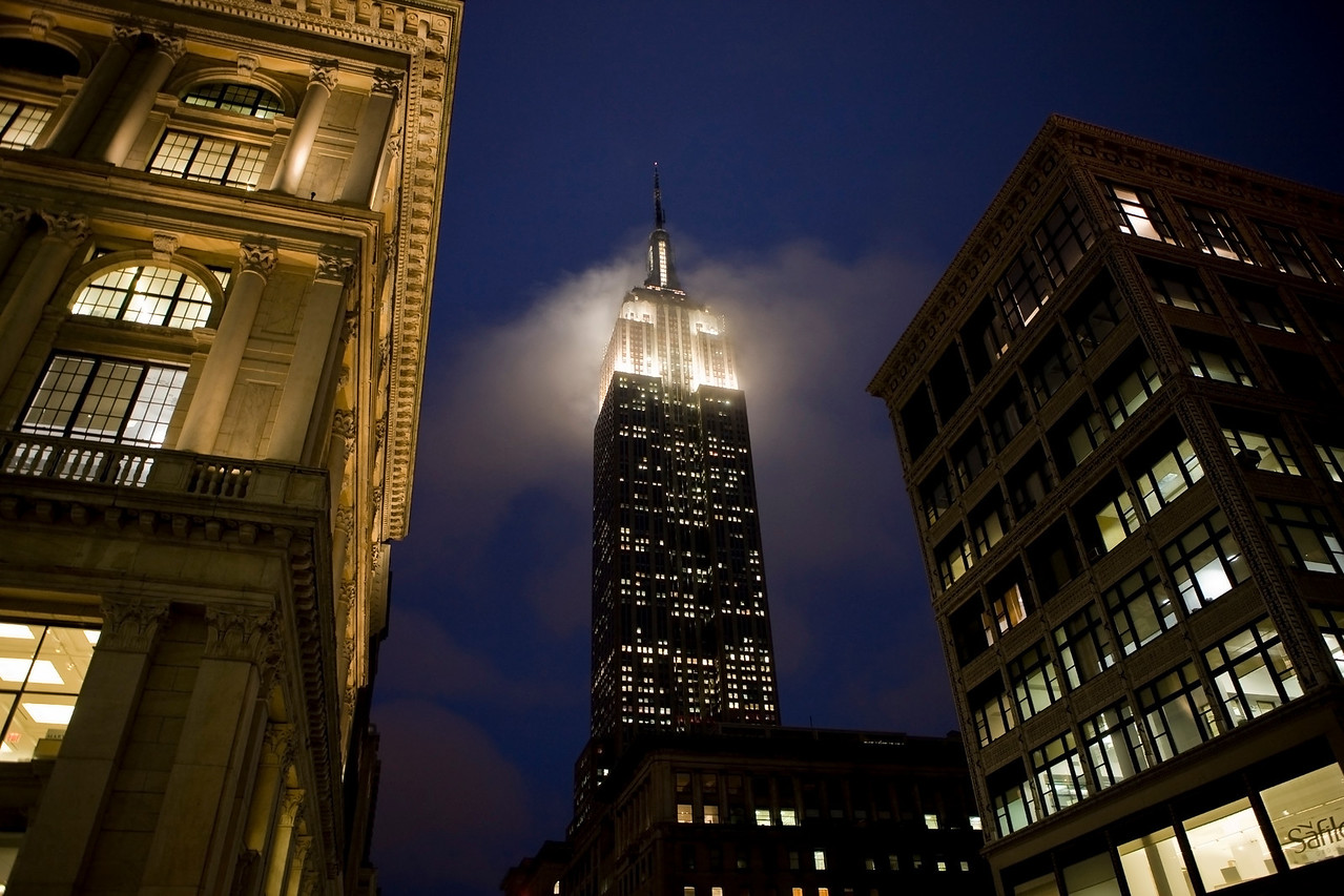 This Empire State Building image is for sale.