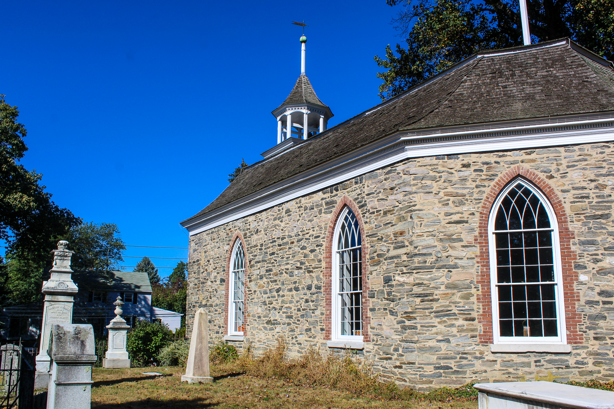 go to the old dutch church when seeing sleepy hollow in october
