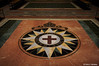 The original compass rose of the Anglican Communion, designed by Canon Eddie West.