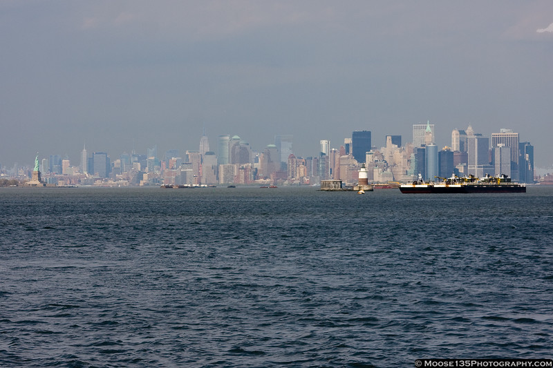 Lower Manhattan as seen from Staten Island.