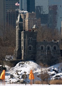 Gates and Belvedere castle