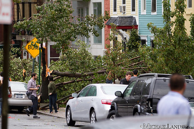 Park Slope, Brooklyn Tornado 9/16/10 - (c) Michael Landry.com