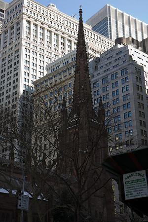 Trinity Wall Street Ash Wednesday