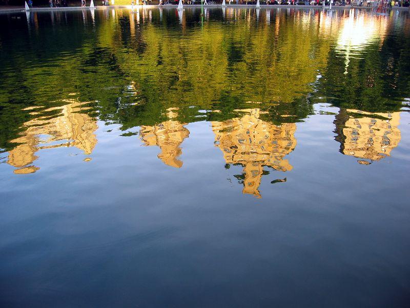 Skyline water