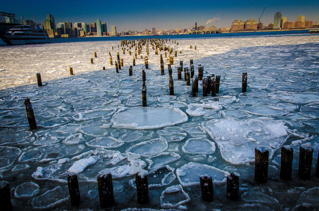 Ice on the Hudson