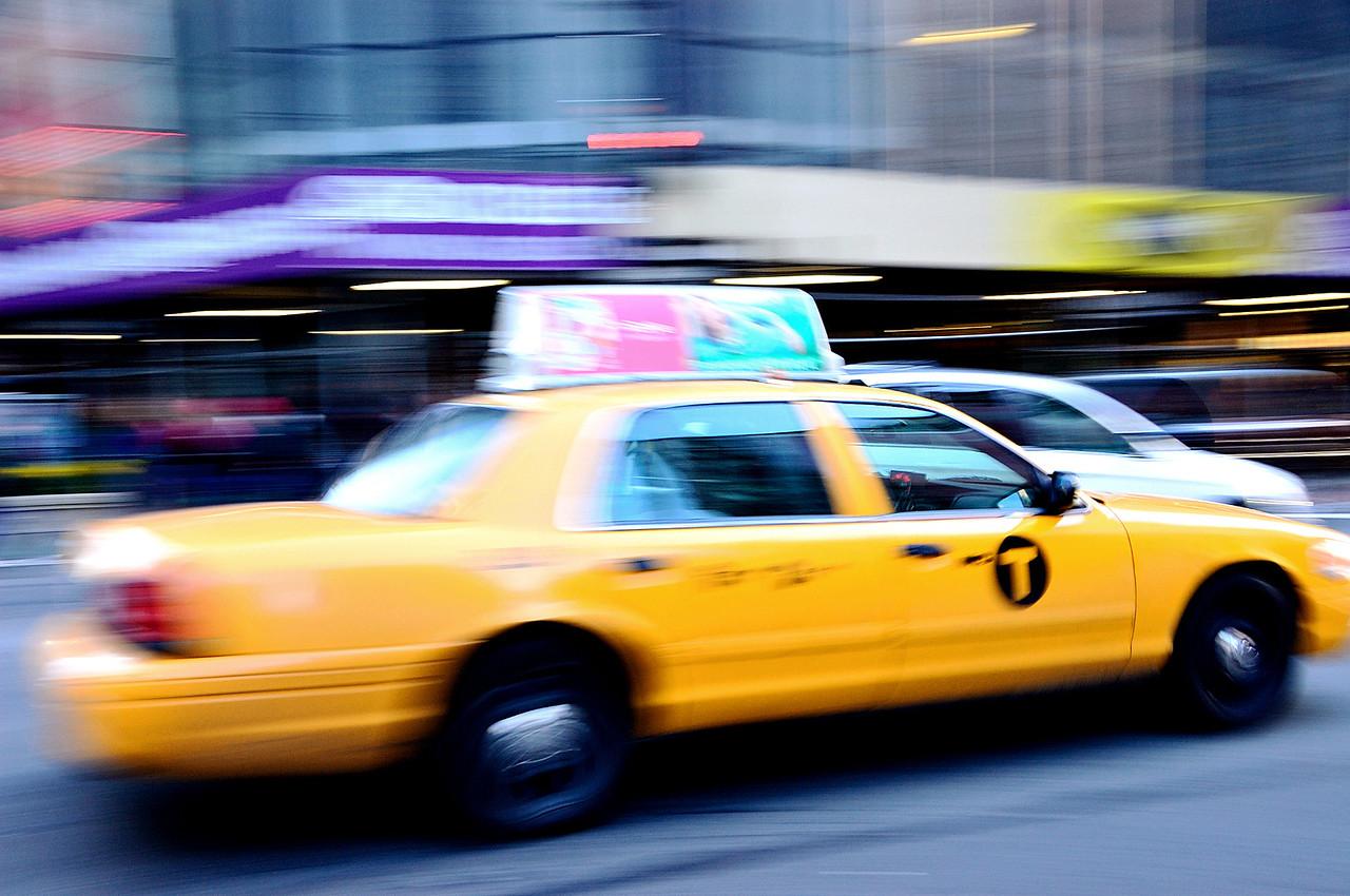 Taxi by Beata Obrzut