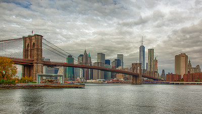 Manhattan as seen from DUMBO