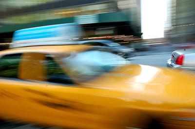Fast Cab by Beata Obrzut