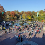 Bethesda Terrace, Central Park in the Fall, New York City