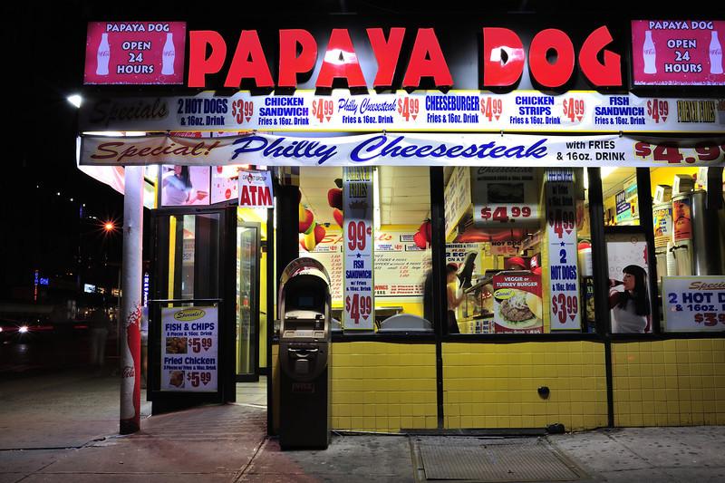 Papaya Dog, Ninth Avenue, NYC