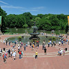 Bethesda Terrace, Central Park in the Summer, New York City