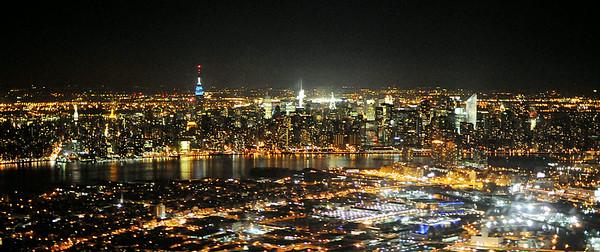 Midtown Night Skyline