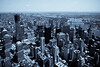 Monochrome NYC Aerial