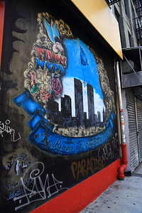 Twin Towers Graffiti