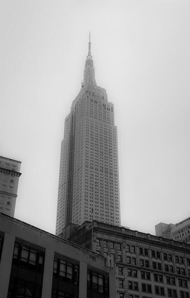 The Empire State Building Black & White