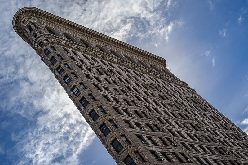 Flatiron Building, 23rd Street and Fifth Avenue, New York City