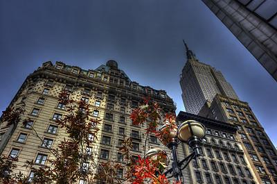 Radisson Martinique and Empire State Building, New York City