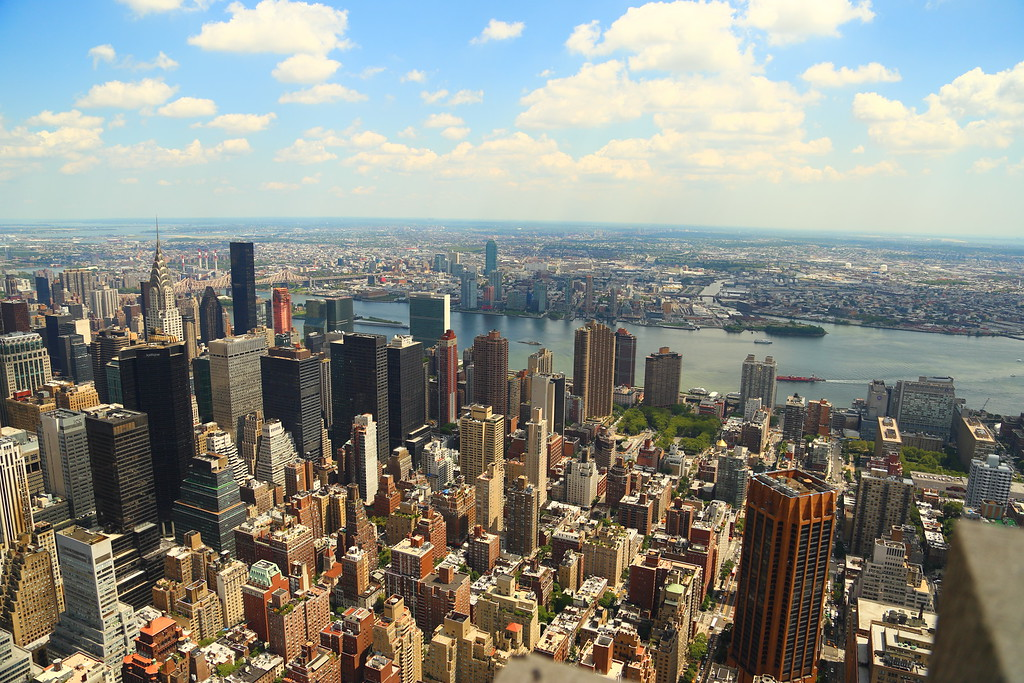 Skyline from Empire State Building