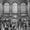 Grand Central Station BW