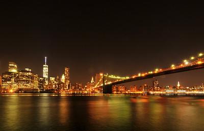 Manhattan From the Fulton Ferry Landing