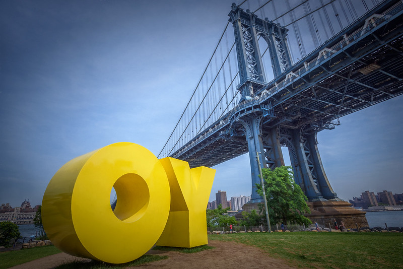YO - OY Sign, Brooklyn, New York