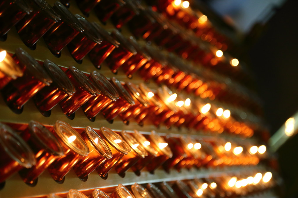 Candles at Saint Patricks