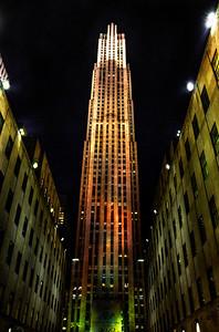 Rockefeller Center, New York City , November 2012