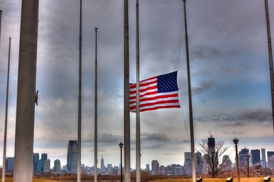 Liberty State Park Flag Memorial, NJ
