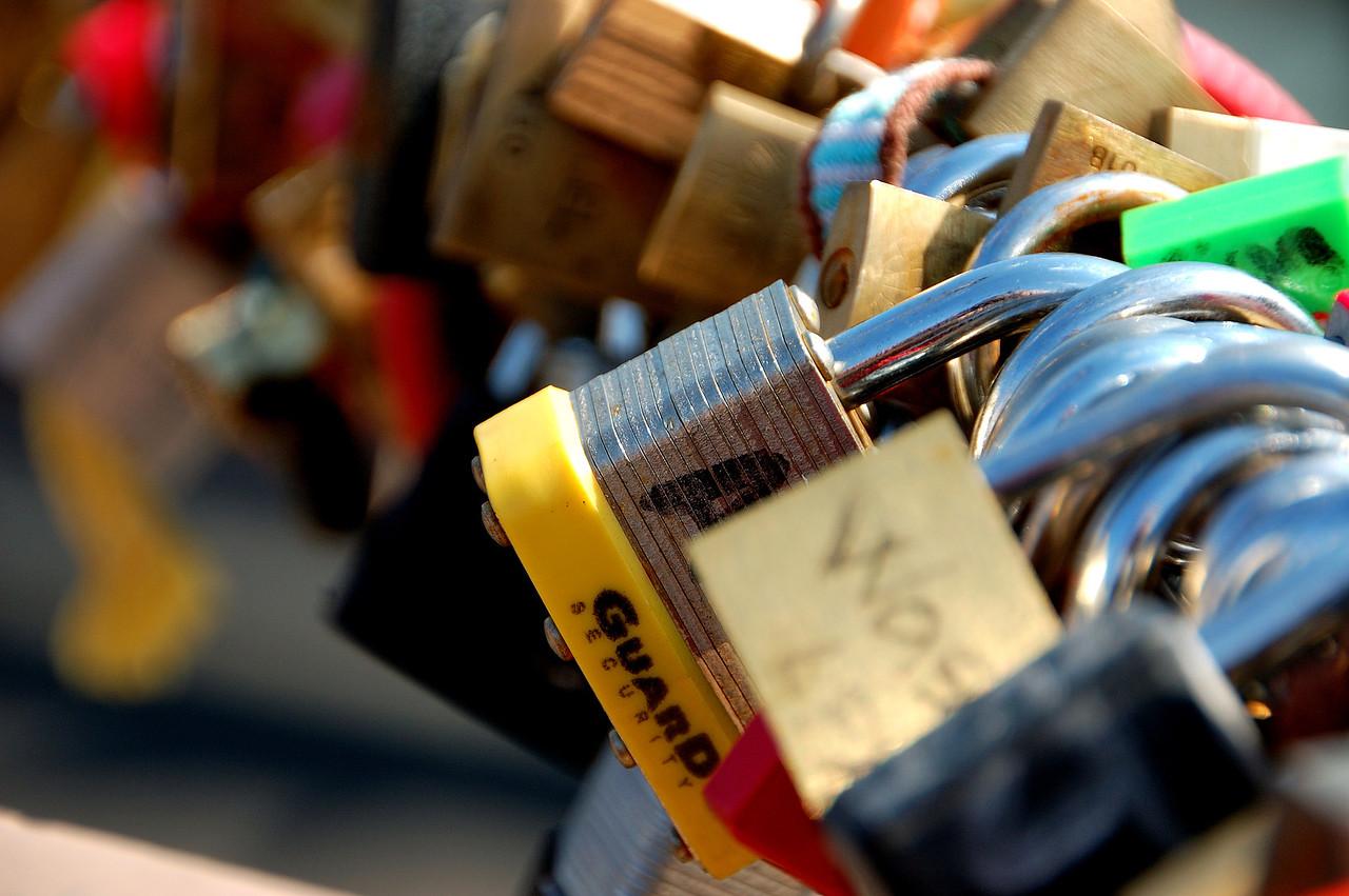 Love Locks by Beata Obrzut