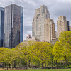 Central Park West in Springtime, New York City